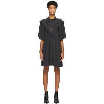 Isabel Marant Etoile Black Inalio Dress