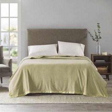 Comfort Classics Soft Brushed Lightweight Micro Fleece Blanket