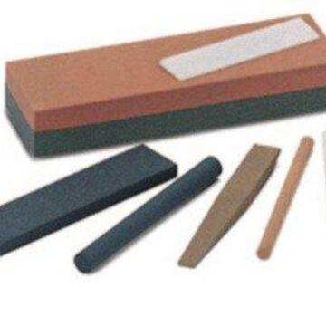 Single Grit Abrasive Sharpening Benchstones, 4 X 1 X 1/4, Fine, India