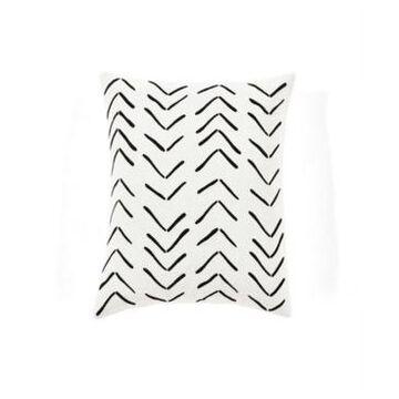 "Lush Decor Hygge Row Decorative Single Pillow Cover, 20"" x 20"""