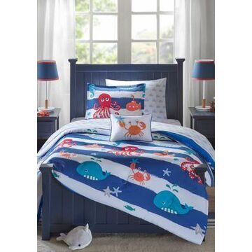 Jla Home Sealife Complete Bed And Sheet Set - -