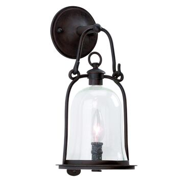 Troy Lighting Owings Mill 15 Inch Tall 1 Light Outdoor Wall Light Owings Mill - B9461NB - Farmhouse