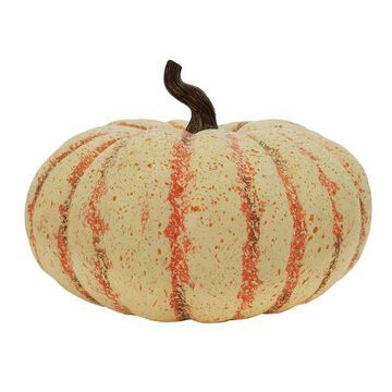 "14"" Cream & Orange Princess Pumpkin by Ashland   Michaels"