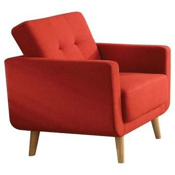 Accent Chairs Acme Furniture Red