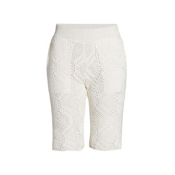 Helmut Lang Crochet Shorts