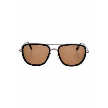 Riccardo Aviator Sunglasses Gold