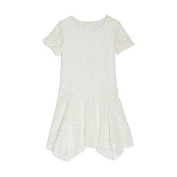Chloe Girls' Lace Handkerchief Dress - Little Kid