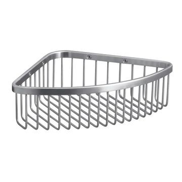 KOHLER 3-in H Screw Mount Stainless Steel Brushed Stainless Hanging Shower Caddy | 1897-BS