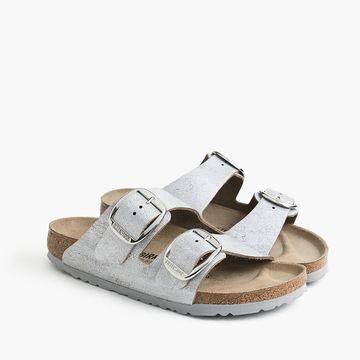 Women's Birkenstock& Arizona sandals with oversized buckle
