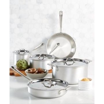 All-Clad Master Chef 9-Pc. Cookware Set, Created for Macy's
