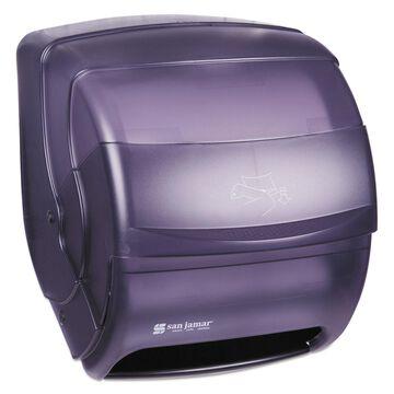 San Jamar Integra Lever Roll Towel Dispenser Black Pearl 11 1/2 x 11 1/4 x 13 1