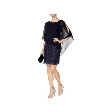 Connected Apparel Womens Cocktail Dress Sleeveless Party