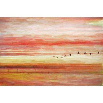 Parvez Taj Flying South Art Print on Premium Canvas