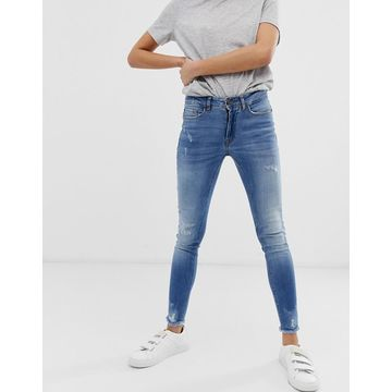 Ichi destroyed skinny jeans