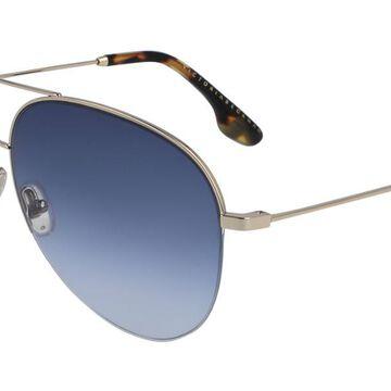 Victoria Beckham VB90S 720 Womenas Sunglasses Gold Size 62