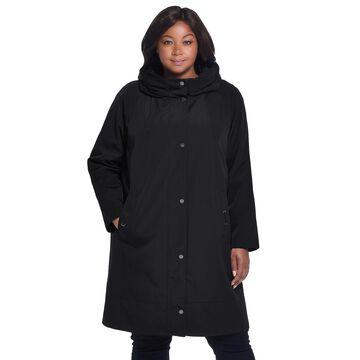 Plus Size Gallery Hooded Rain Jacket