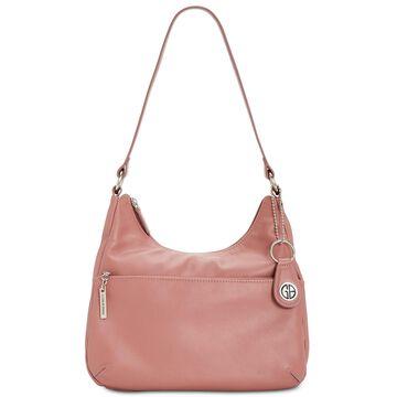 Nappa Leather Hobo Bag, Created for Macy's