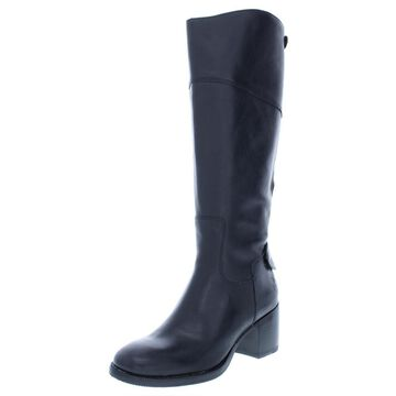 Patricia Nash Womens Loretta Wide Calf Leather Riding Boots