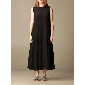 Alysi long silk dress