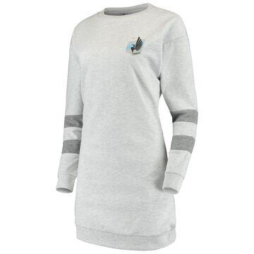 Women's ZooZatz Gray Minnesota United FC Sweatshirt Dress