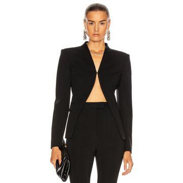 Altuzarra Open Long Sleeve Top in Black | FWRD