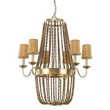 Acclaim Lighting Anastasia 6-light chandelier (Gold)