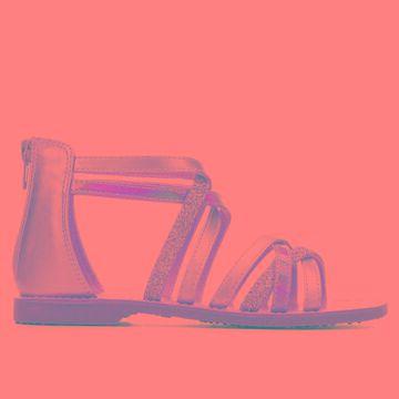 Self Esteem Little Kid & Big Kid Izzy 2 Children's Shoe (Gold - Size 4.5 - Big Kid - Faux Leather)