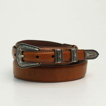 N2450702-40 Mens Smooth Ranger Belt, Brown - Size 40