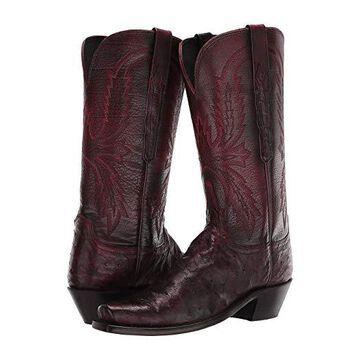 Lucchese Josephine (Black Cherry) Cowboy Boots