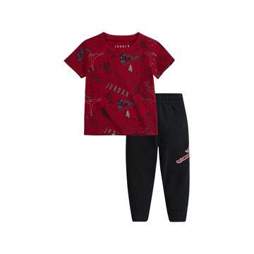 Jordan Baby Boy T-Shirt and Pants 2 Piece Set