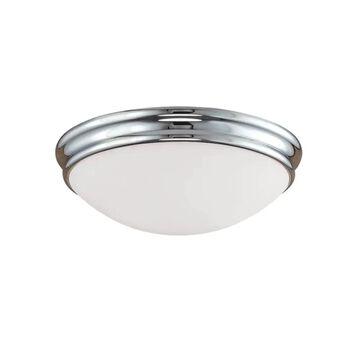 Millennium Lighting 12-in Chrome Incandescent Flush Mount Light   5223-CH