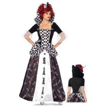 Leg Avenue Women's Wonderland Queen Halloween Costume