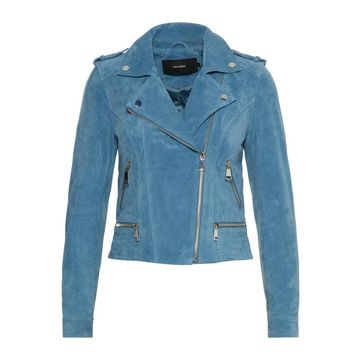 **Vero Moda Blue Suede Jacket