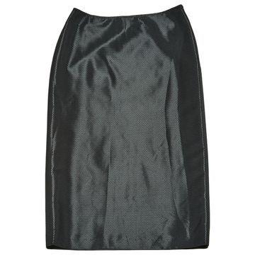 Jil Sander Black Polyester Skirts