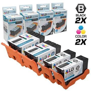 LD Products Compatible Cartridge Replacement for V313 Series 21 (2 Black, 2 Color, 4-Pack)