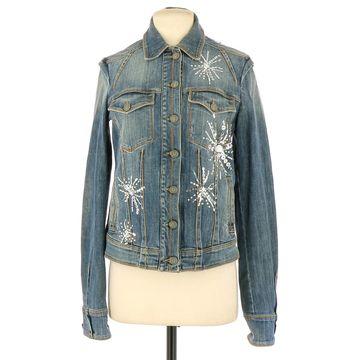 John Galliano Blue Cotton Jackets