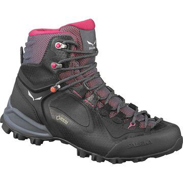 Salewa Women's Alpenviolet Mid GTX Boot - 10.5 - Ombre Blue/Fluo Coral