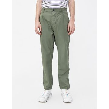 Gerald Poplin Pant in Dollar Green
