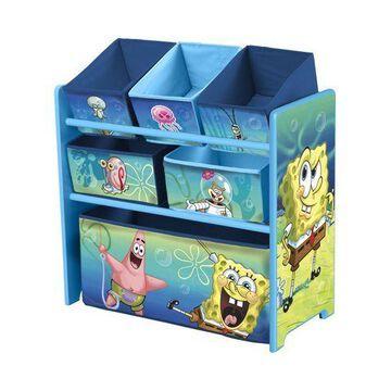 ''Delta Children Multi-Bin Toy Organizer, Nickelodeon SpongeBob SquarePants''