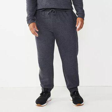 Big & Tall Tek Gear Ultra Soft Fleece Joggers, Men's, Size: XXL Tall, Black