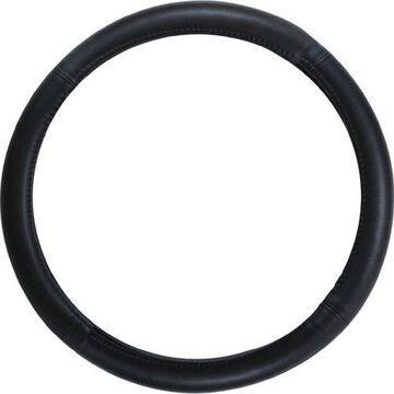 Pilot Automotive Sw-101 Genuine Black Leather Steering Wheel Cover