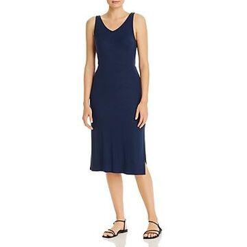Three Dots Tie-Back Cutout Dress