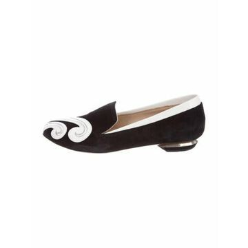 Suede Loafers Black