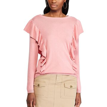 Women's Chaps Ruffle Sweater
