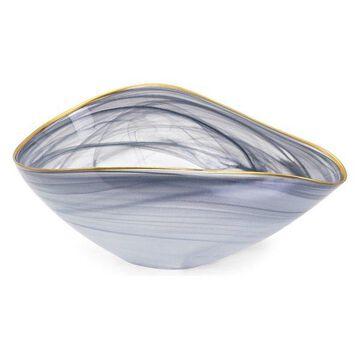 IMAX Home 83906 Romero Glass Decorative Bowl