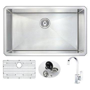 ANZZI VANGUARD Series KAZ3219-035 Kitchen Sink