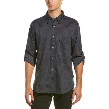 John Varvatos Star U.S.A. Cuffed Woven Shirt
