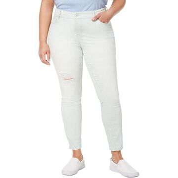 Celebrity Pink Womens Plus Denim Colored Jeans