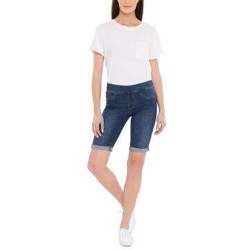 Nydj Pull-On Bermuda Shorts