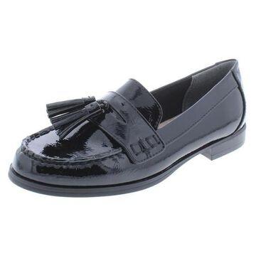 Giani Bernini Womens Mauwe Patent Padded Insole Loafers
